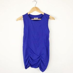 Athleta Ruched Workout Tank Top
